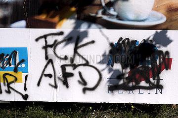 AfD Wahlplakt