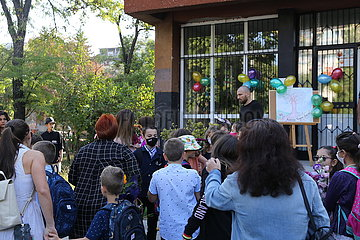 Bulgarien-Sofia-New Schuljahr