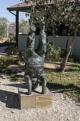 Skulptur Ben-Gurions