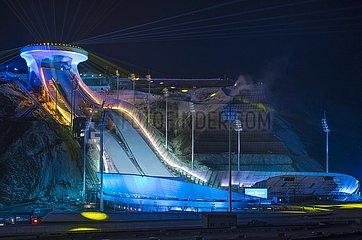 Xinhua Headlines-XI-Fokus: Ein wahrer Meister für Chinas Fahrt  um ein sportliches Kraftwerk zu bauen