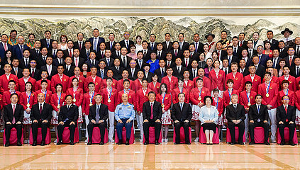 China-Xi'an-XI-Jinping-Sport-Vertreter-Treffen (CN)