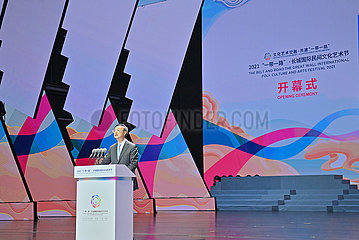 China-Hebei-Langfang-Yang Jiechi-Folk Kultur- und Kunstfestival (CN)