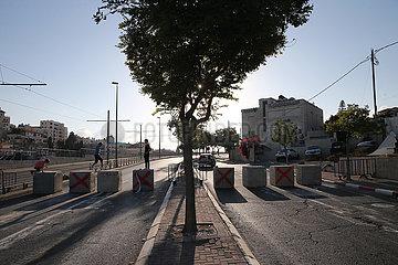 Midost-Jerusalem-Yom Kippur-Roadblocks