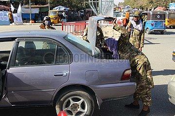 Afghanistan-Kunduz-Taliban-Security Checkpoint