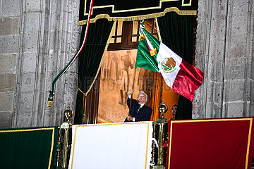 MEXICO-MEXICO CITY-INDEPENDENCE DAY-CELEBRATIONS
