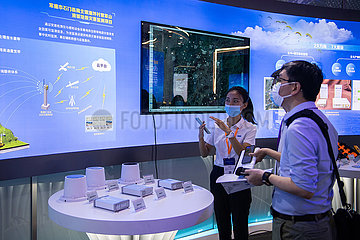 CHINA-HUNAN-CHANGSHA-INT'L SUMMIT-BDS APPLICATIONS (CN)
