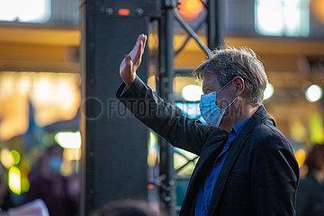 Robert Habeck auf dem Marienplatz in München