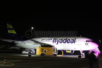 SAUDI ARABIA-JEDDAH-FLYADEAL AIRLINE-AIRBUS A320NEO