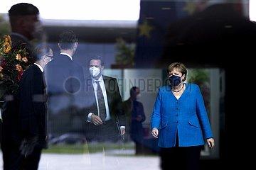 Angela Merkel  Steffen Seibert