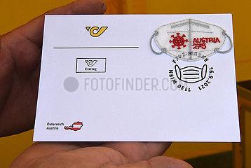 Österreich-Wien-spezielles Stempel-Mini-FFP2-Mask-Problem