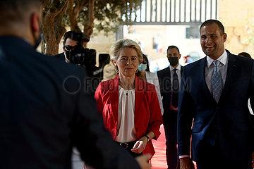 Malta-Valletta-Europäischer Kommission-Präsident-Besuch-Besuch Malta-Valletta-Europäischer Kommission-Präsident-Besuch