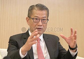 China-Hong Kong-Gov't offizieller Interview (CN)