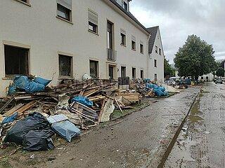 Nach dem Hochwasser 2021