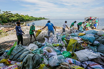 Philippines-las Pinas-Int'l Coastal Cleanup Day