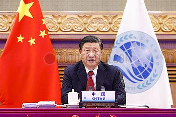 China-Beijing-Xi Jinping-Sco-Meeting (CN)