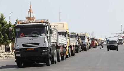 Libyen-Ras Ejder Border Crossing-Wiedereröffnung Libyen-Ras Ejder Border Crossing-Wiedereröffnung