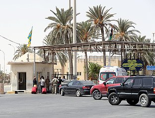 Libyen-Ras Ejder Border Crossing-Wiedereröffnung