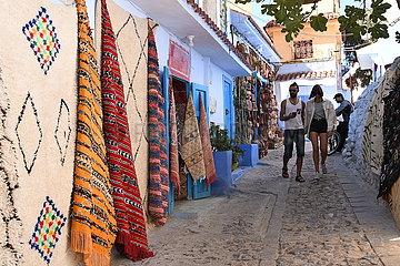 Marokko-Chefchaouen-Tourismus