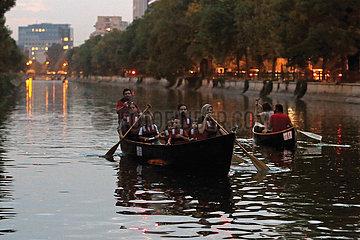 Rumänien-Bukarest-kulturelles Ereignis