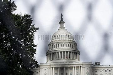 U.S.-Washington  D.C.-Capitol-Sicherheitsmaßnahmen