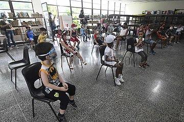 CUBA-HAVANA-COVID-19-CHILDREN AND ADOLESCENTS-VACCINATION