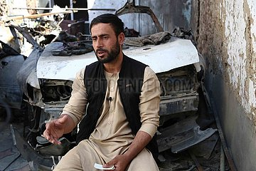 Afghanistan-Kabul-Drone Strike-Zivilisten
