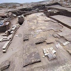 EGYPT-KAFR EL-SHEIKH-ARCHAEOLOGY-RITUAL TOOLS