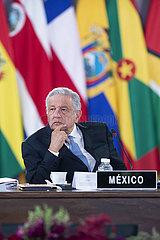 Mexiko-Mexiko-Stadt-Celac-Gipfel