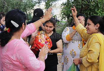 India-Punjab-Hindu Festival-Ganpati