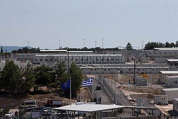 Griechenland-Samos-Asyl-Sucher-Empfangslager
