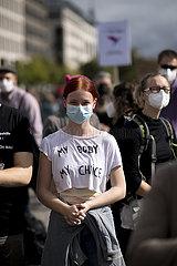 Protest gegen Marsch fuer das Leben - 219a Demo