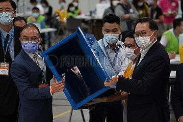 China-Hong Kong-Wahl-Zählung (CN)