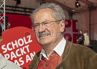 Christian Ude  SPD  ehemaliger Muenchener OB  18. September 2021