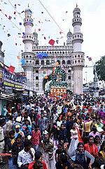 Indien-Hyderabad-Ganesh Festival