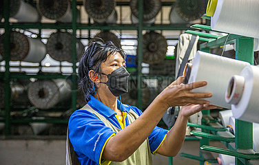 Thailand-Rayong-Covid-19-PPE-Fabrik