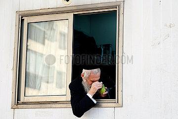 Israel-Ashdod-Sukkot-Vorbereitungen