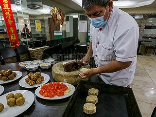 PHILIPPINES-MANILA-MOONCAKES