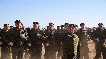 Russland-Orenburg-SCO-Friedensmission 2021