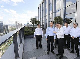 CHINA-GUANGDONG-SHENZHEN-HAN ZHENG-INSPECTION (CN)