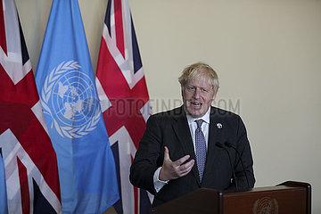 Un-British PM-informelle Führungskräfte rundet auf Klimaschutzmaßnahmen un-britische PM-informelle Führungskräfte  die auf Klimaabwicklung rundet