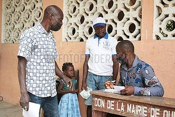 Benin-Ouidah-Schulöffnung