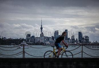 Neuseeland-Lockdown-tägliche Leben Neuseeland-Lockdown-tägliche Lebensdauer