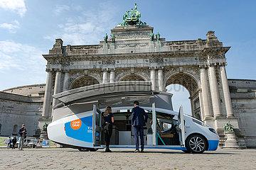 Belgien-Brüssel-Solarbetriebenes Erholungsfahrzeug