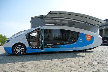Belgien-Brüssel-Solarbetriebenes Freizeitfahrzeug Belgien-Brüssel-Solarbetriebenes Erholungsfahrzeug