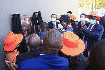 Simbabwe-Harare-Huawei-ICT-Projekt-Start