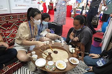 China-Guangxi-Nanning-Sand-Kaffee (CN)