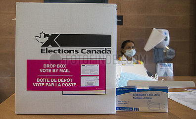 CANADA-ONTARIO-MISSISSAUGA-44TH GENERAL ELECTION-VOTE