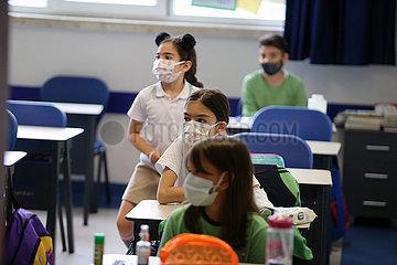 Türkei-Ankara-Schulen-Covid-19 Türkei-Ankara-Schulen-Covid-19