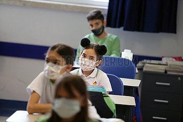Türkei-Ankara-Schulen-Covid-19