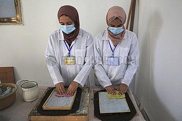 Midost-Gaza-Papier-Abfallrecycling